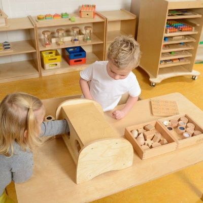Touch and Guess Box,Touch and Guess Box,sensory touch box,sensory equipment,wooden sensory equipment